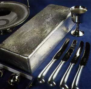 Silver Headed Way Above 50 Per Ounce Estate Sterling
